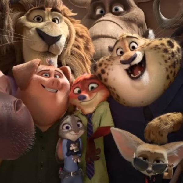анимационные фильмы Disney стали доступны в кино для людей с